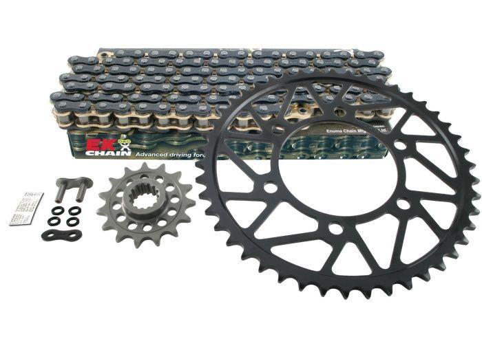 Kit de lant EK PREMIUM X-RING pentru SUZUKI GSX-R 600 2006-2010 0