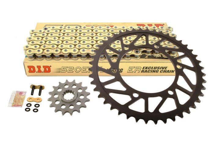 Kit de lant EK ULTIMATE GOLD pentru HONDA CBR 900RR 1992-1995 0