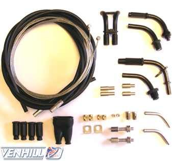 Kit universal cablu de acceleratie Venhill U01-4-150 1,35m 0
