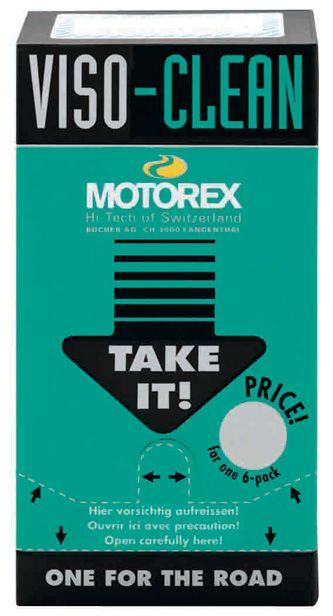 Motorex Viso Clean 6 buc. 0
