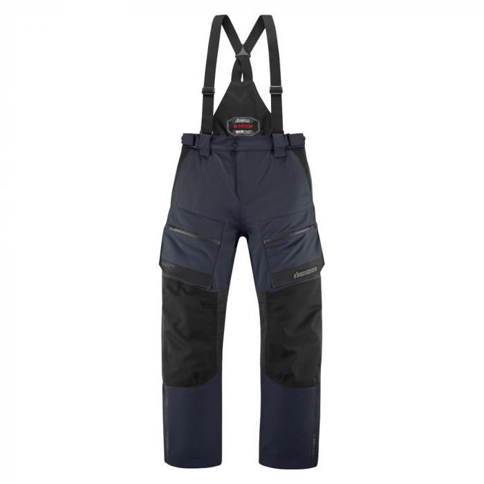 Pantaloni moto impermeabili ICON Raiden [0]