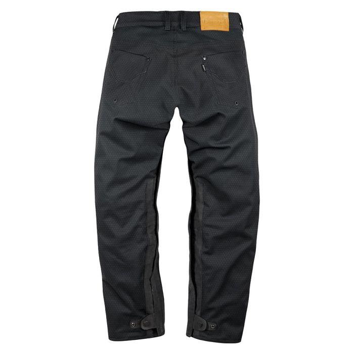 Pantaloni moto impermeabili Icon UX [1]