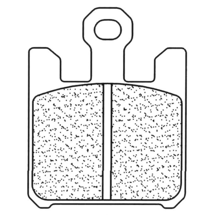 Placute de frana Carbone Lorraine 1110 XBK5 (4 bucati in kit) 0