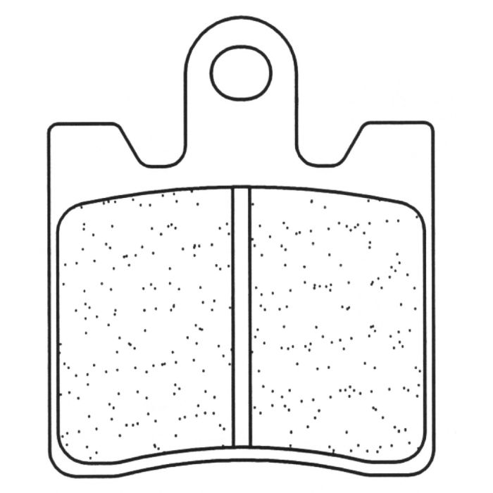 Placute de frana Carbone Lorraine 1175 XBK5 (2 bucati in kit) 0