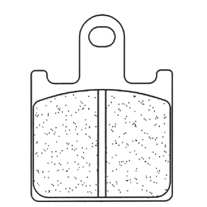 Placute de frana Carbone Lorraine 1177 A3+ (4 bucati in kit) 0