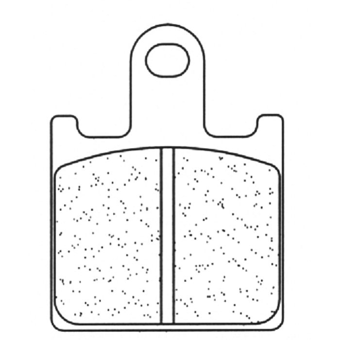 Placute de frana Carbone Lorraine 1177 XBK5 (2 bucati in kit) 0