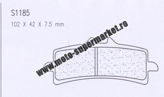 Placute de frana Carbone Lorraine 1185 A3+ 0