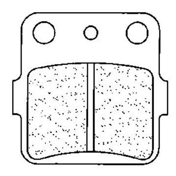 Placute de frana Carbone Lorraine 2328 MX10 (XC7) 0