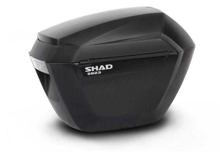 Sidecase moto 23 Litri SHAD SH23 Negru 0