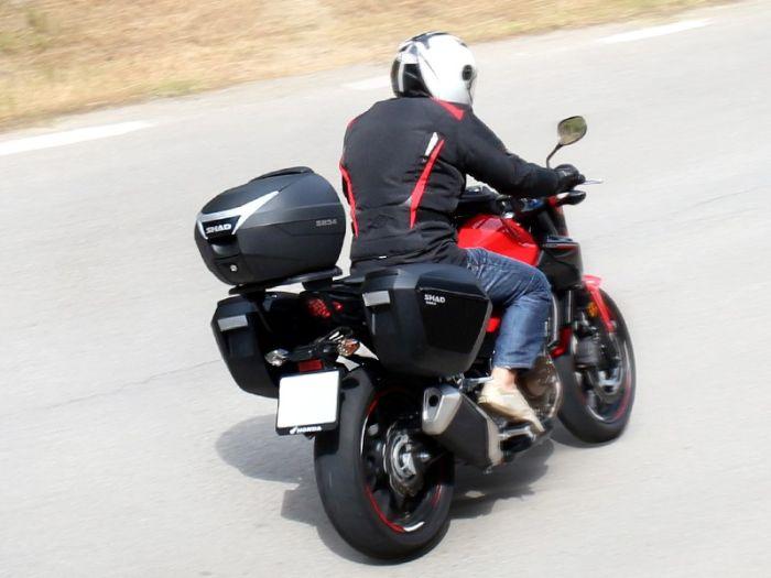 Sidecase moto 23 Litri SHAD SH23 Negru 6