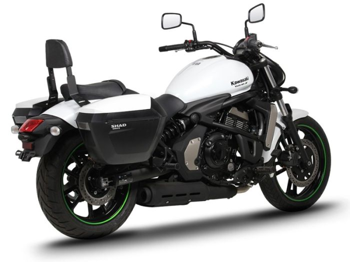 Sidecase moto 23 Litri SHAD SH23 Negru 7
