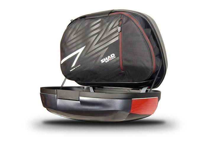 Sidecase moto 43 Litri SHAD SH43 Negru 2