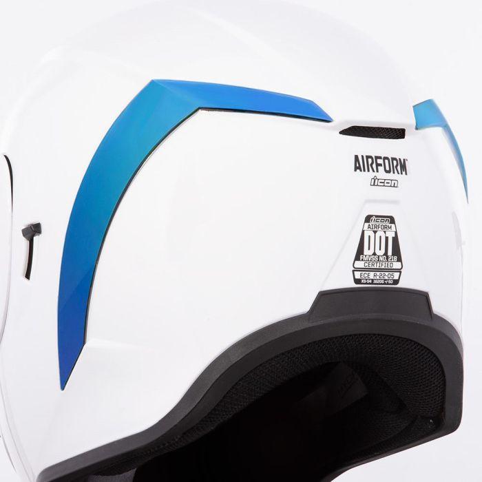 Spoiler iridium albastru pentru Icon Airform [0]