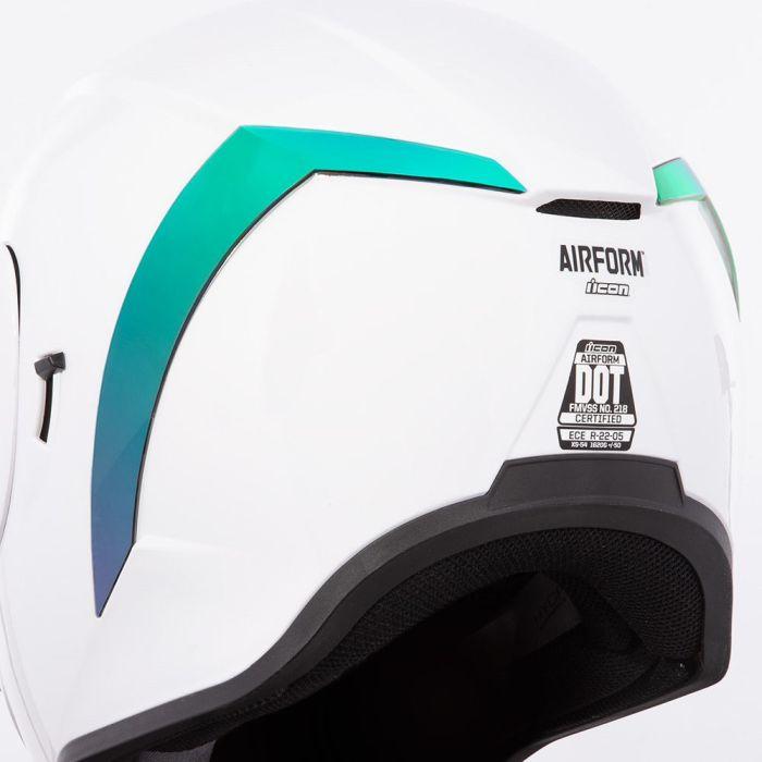 Spoiler iridium verde pentru Icon Airform 0