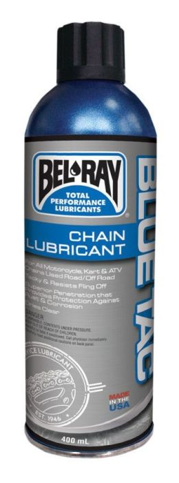Spray de lubrifiat lantul Bel Ray Blue Tac (spray 400ml) 0