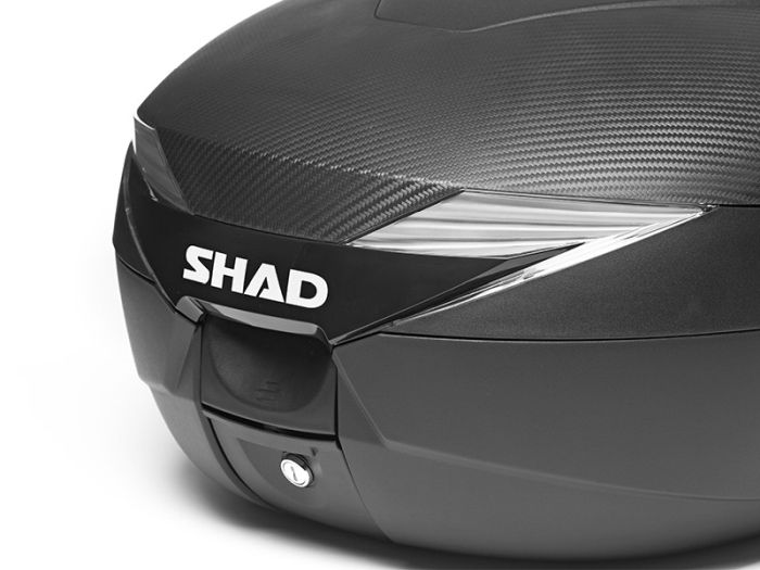 Topcase moto SHAD SH39 Carbon [2]