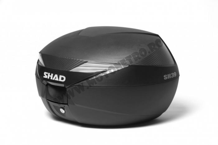 Topcase moto SHAD SH39 Carbon [0]