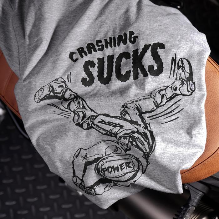 Tricou 4SR Crashing sucks [2]