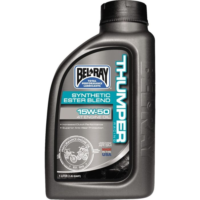 Ulei BEL RAY Thumper Racing Syn Ester Blend 4T 15W50 1L 0