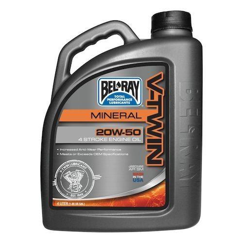 Ulei BEL RAY V-Twin Mineral 20W50 4L 0