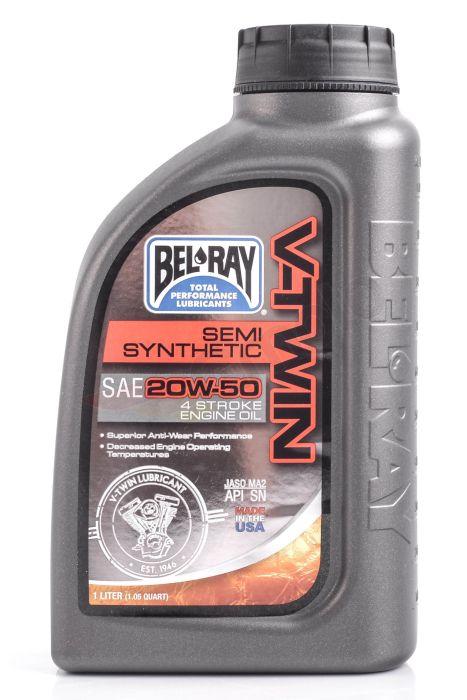 Ulei Bel Ray V-Twin Semi-Syn 20W50 1L 0