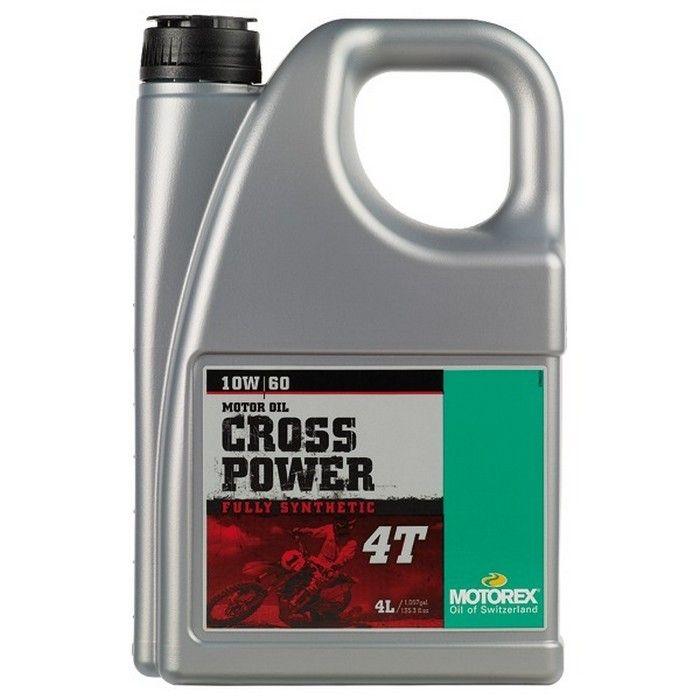 Ulei MOTOREX CROSS POWER 10W60 - 4L 0