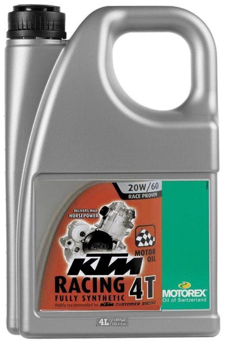 Ulei MOTOREX KTM RACING 20W60 4L 0