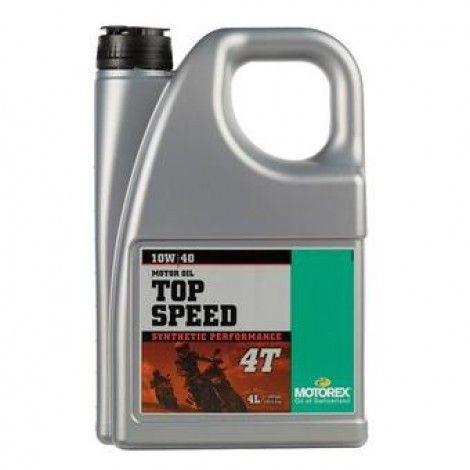 Ulei MOTOREX TOP SPEED 10W40 - 4L 0
