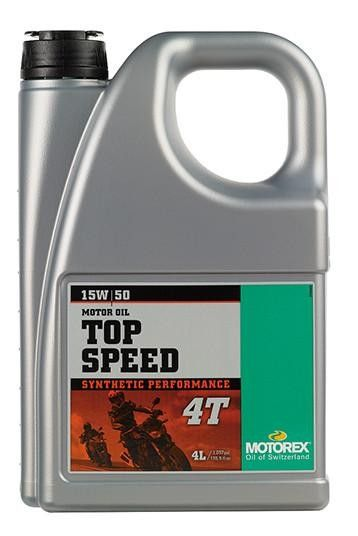 Ulei MOTOREX TOP SPEED 15W50 - 4L 0