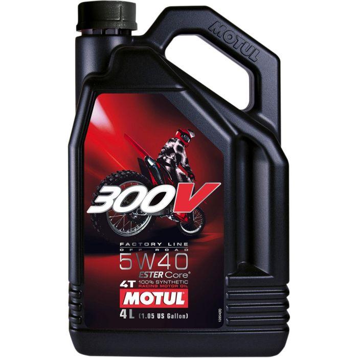 Ulei MOTUL 300V 5W40 4T FL 4L 0