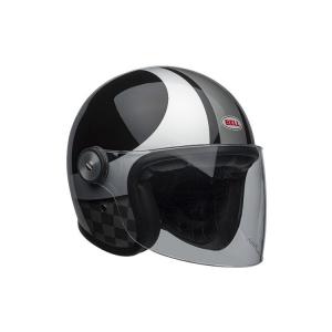 Casca moto open face BELL RIOT CHECKERS0
