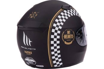 Casca moto integrala MT Matrix Cafe Racer3