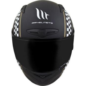 Casca moto integrala MT Matrix Cafe Racer2