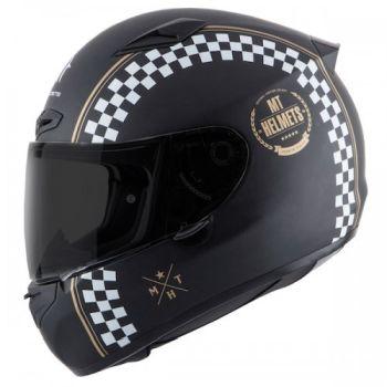 Casca moto integrala MT Matrix Cafe Racer0