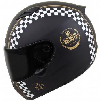 Casca moto integrala MT Matrix Cafe Racer1