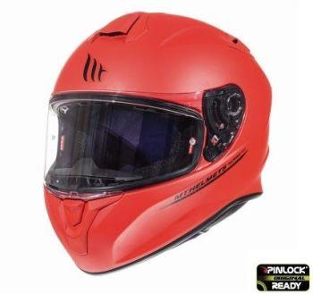 Casca moto integrala MT TARGO Solid A5 Rosu Mat1