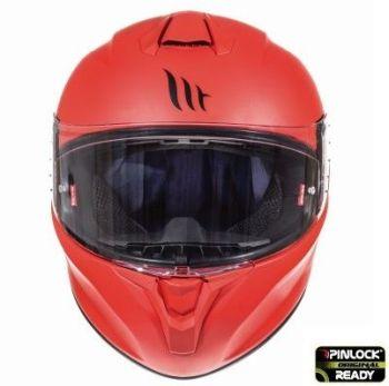 Casca moto integrala MT TARGO Solid A5 Rosu Mat2
