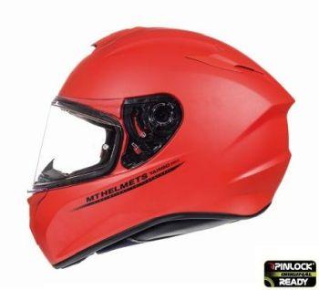 Casca moto integrala MT TARGO Solid A5 Rosu Mat0