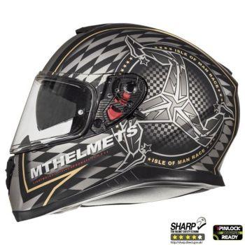 Casca moto MT Helmets THUNDER 3 SV Isle of Man [0]