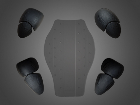 Geaca moto textil 4SR RTX Black [7]