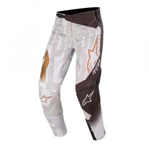 Pantaloni motocross ALPINESTARS TECHSTAR FACTORY METAL [0]