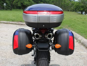 Sidecase moto 43 Litri SHAD SH43 Negru6