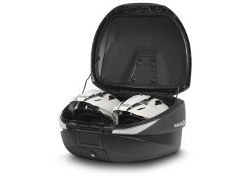Topcase moto expandabil SHAD SH58X Carbon4