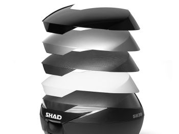 Topcase moto SHAD SH39 Carbon [4]