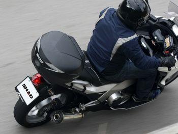 Topcase moto SHAD SH39 Carbon [6]