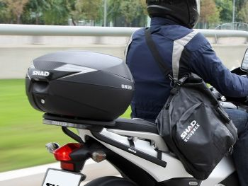 Topcase moto SHAD SH39 Carbon [7]