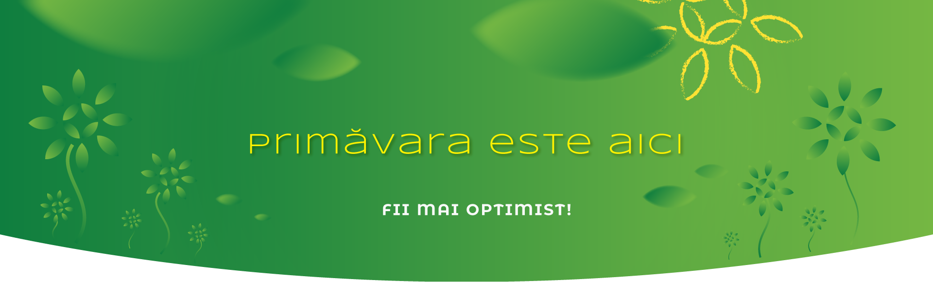 Fii mai optimist!