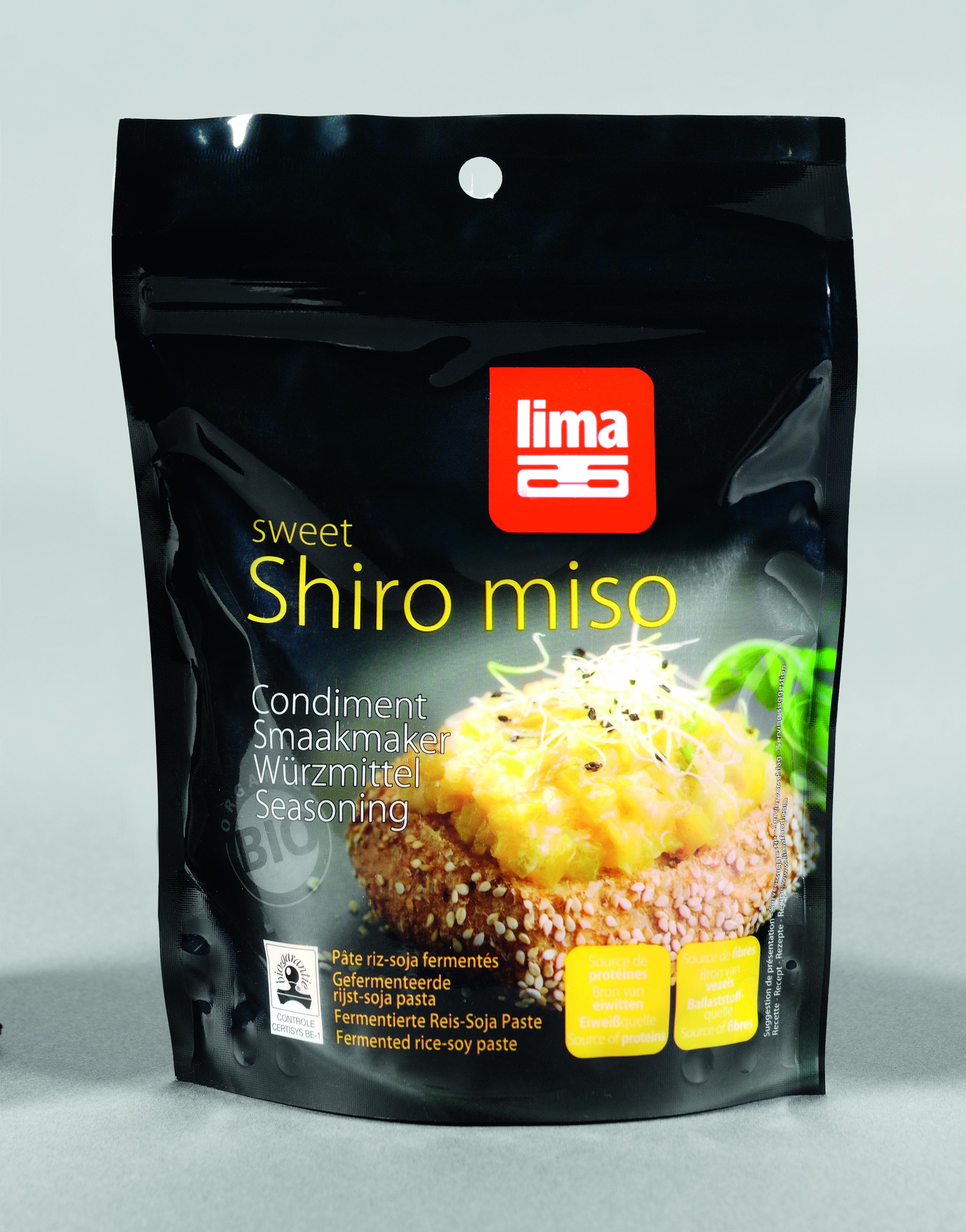Pasta de soia Shiro Miso bio 300g 0