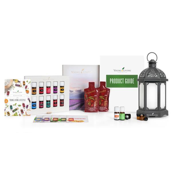 Set Starter Premium cu aromatizator Charcoal Lantern [0]