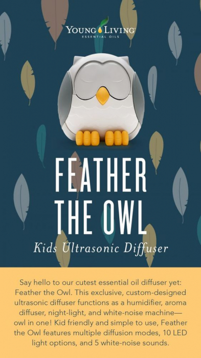 Feather The Owl Ultrasonic Diffuser [2]